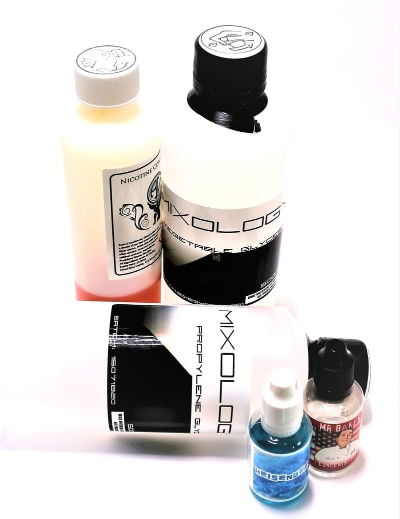 How to steep e-juice - the ingredients