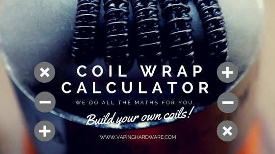 Coil wrap calculator