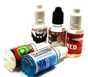 DIY e liquid concentrates