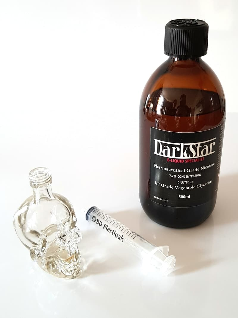 How to make your own e liquid - Step 2