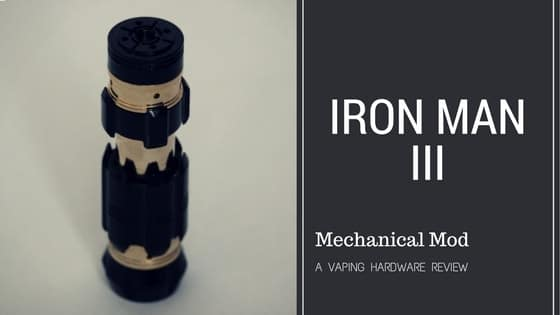 Iron Man 3 Mechanical Mod