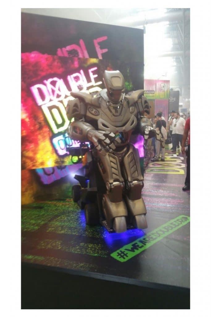 Vaper expo robot