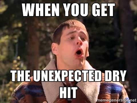 Vape Memes; Dry hits