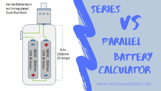 Series VS Parallel Battery Calculator