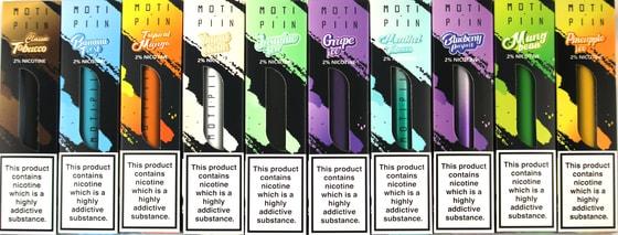 MOTI Piin 10 Flavors