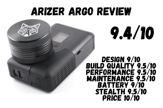 Arizer ArGo Review Score