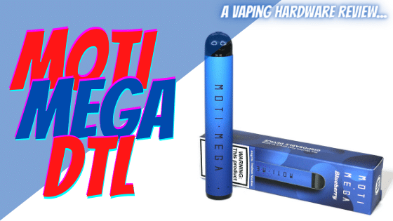 MOTI Mega Disposable Review