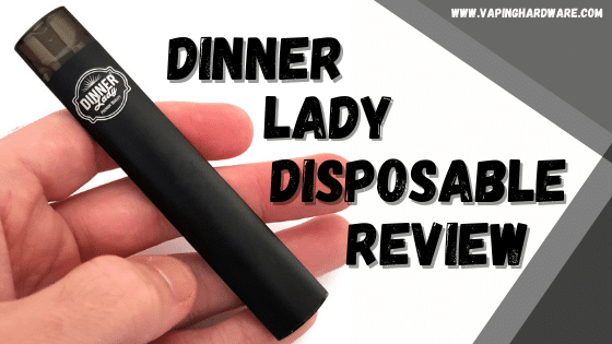 Dinner Lady Disposable Review