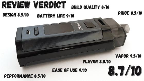 Smok RPM160 Verdict