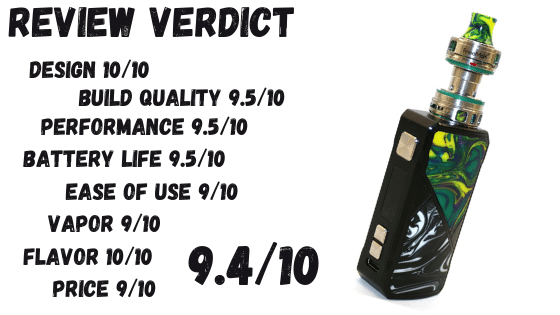 Maxuw 50W Kit Review Verdict