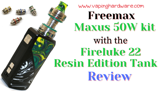 Freemax Maxus 50W Featured Image