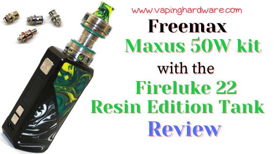 Freemax Maxus 50W Featured Image