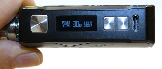 Maxus 50W Display View