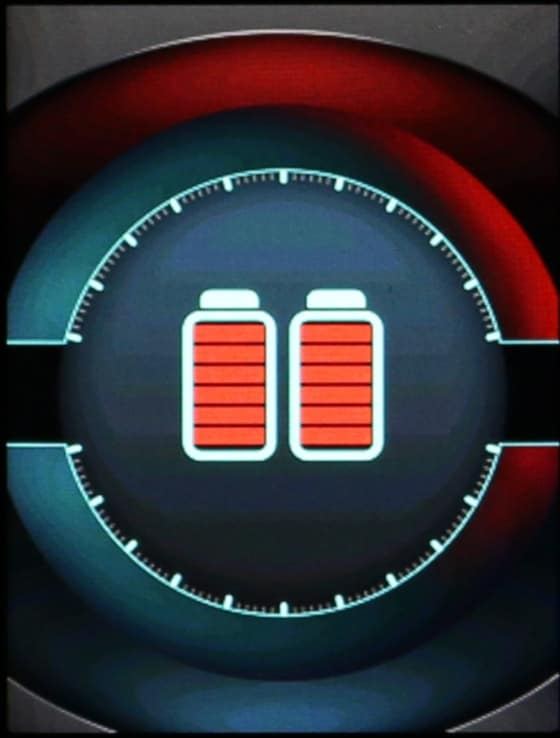 Aegis X Battery Charging