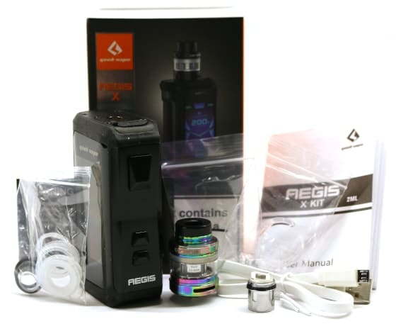 Aegis X kit Whats In the Box