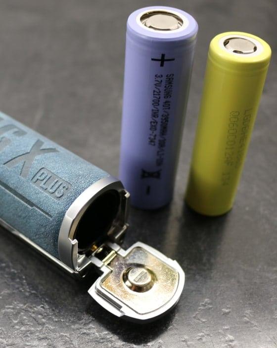 Drag X Plus 18650/21700 Battery