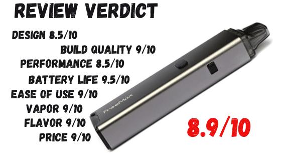 Freemax Onnix 20W Kit Review Verdict