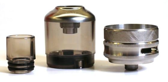 TPP Pod Tank, Drip Tip and 510 Adaptor