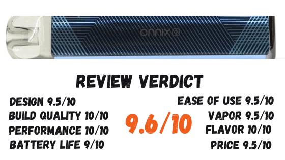 Freemax Onnix 2 Pod Kit Review Verdict Image