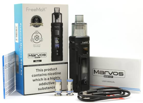 Marvos 60W Pod Mod Kit Whats In The Box