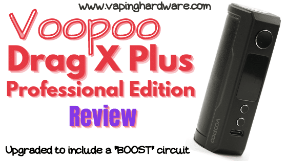 Voopoo Drag X Plus Professional Edition Featured Image