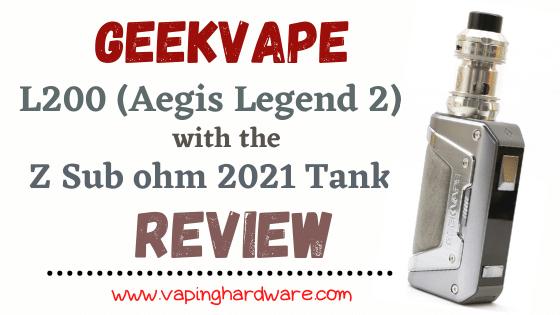 Geekvape L200 (Aegis Legend 2) Kit Featured Image