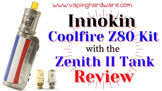 Innokin Coolfire Z80 Kit Featured Image