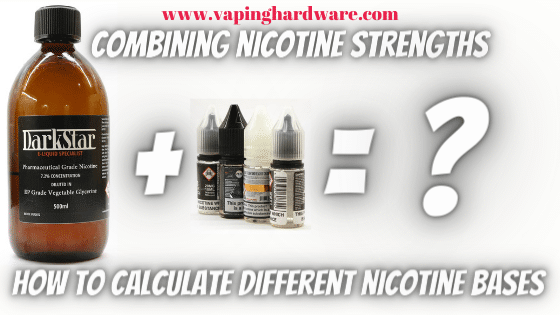 Combining Nicotine Strengths Featured Image