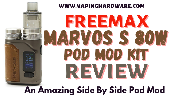 Marvos S 80W Pod Mod Kit Featured Image