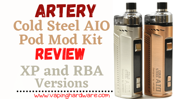 Artery Cold Steel AIO Pod Mod Kit Featured Image