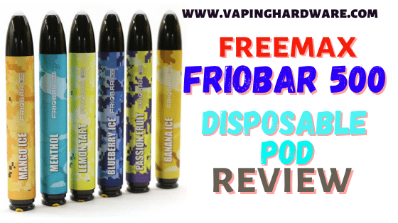 Friobar 500 Disposable Pod Featured Image
