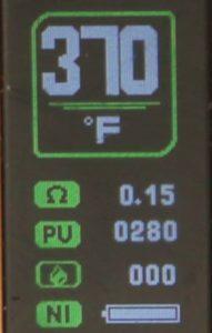 Cold Steel AIO Temp Screen